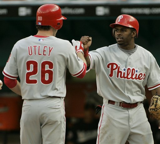 Chase Utley, Michael Bourn