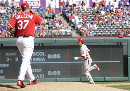 Shawn Tolleson, Cody Asche