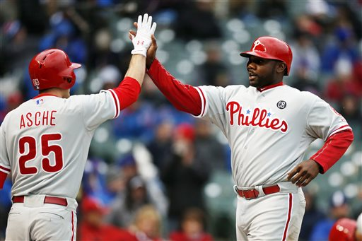 Ryan Howard, Cody Asche
