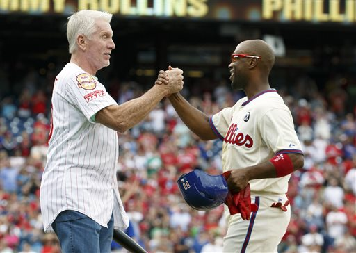 Jimmy Rollins, Mike Schmidt