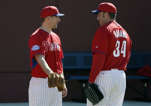 Cliff Lee, Aaron Harang
